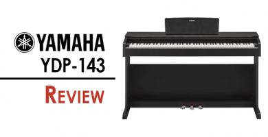 Revisión de Yamaha YDP-143: un piano…