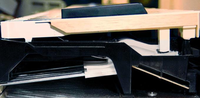 Yamaha NWX wooden key action